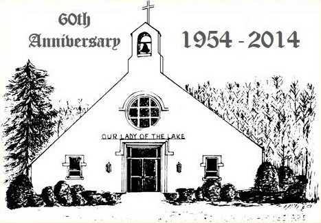 Our lady of the lake church historical vignettes amp memories 1954 2014