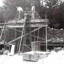 Grotto Construction, 1954 photo album thumbnail 4