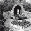 Grotto Dedication, 1954 photo album thumbnail 1